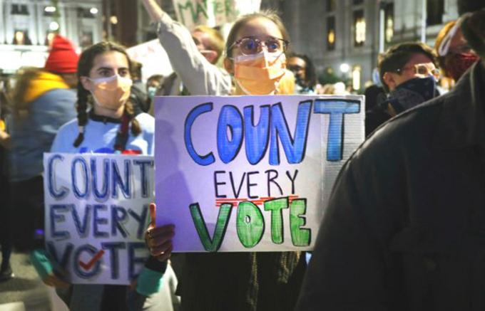 Elecciones en EE.UU. aún sin resultados definitivos