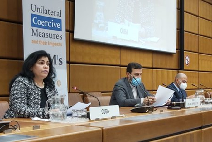 Denuncian en la ONU recrudecimiento del bloqueo de EE.UU. contra Cuba