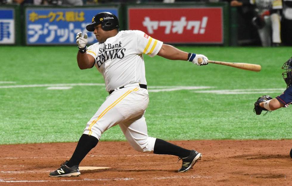 Despaigne: jonrón 160 y empate con cubano Destrade en béisbol japonés
