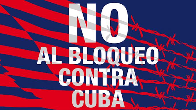 Hoy, foro internacional online para denunciar el bloqueo de Estados Unidos