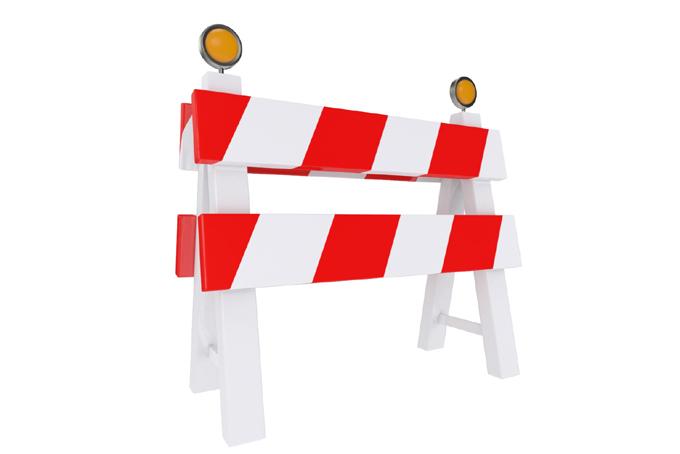 Interrumpen circulación vial en tramo de la Autopista Nacional
