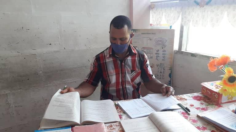 Del surco al aula: las pasiones cotidianas de Osmany (+ fotos, audio y video)