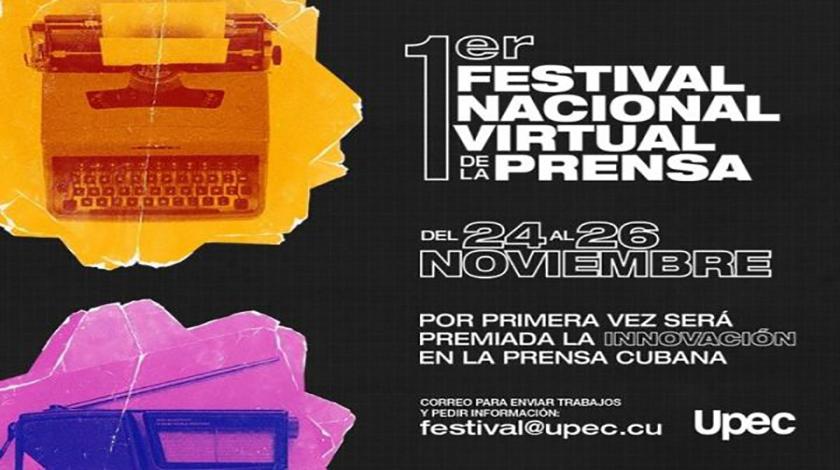 Desde hoy, Primer Festival Virtual de la Prensa Cubana