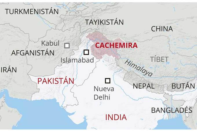 India transmitió preocupación a Pakistán por posible acto terrorista
