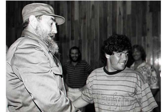 Una amistad entrañable: Fidel Castro y Diego Armando Maradona (+Fotos)
