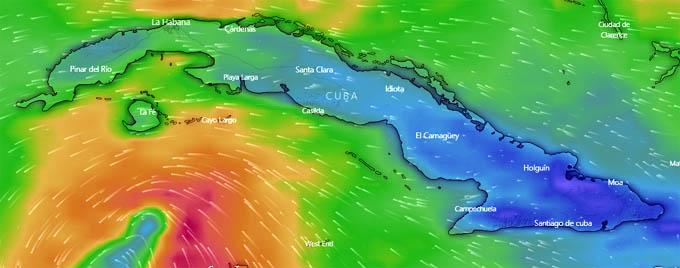 Eta es tormenta tropical de nuevo y amenaza centro de Cuba