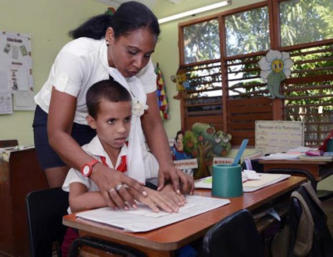 Reconoce Unesco inclusión en Cuba de alumnos con discapacidad