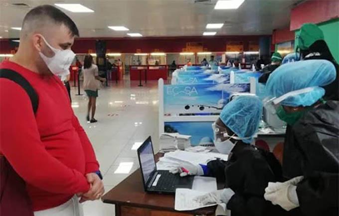 En práctica medidas para el control sanitario internacional
