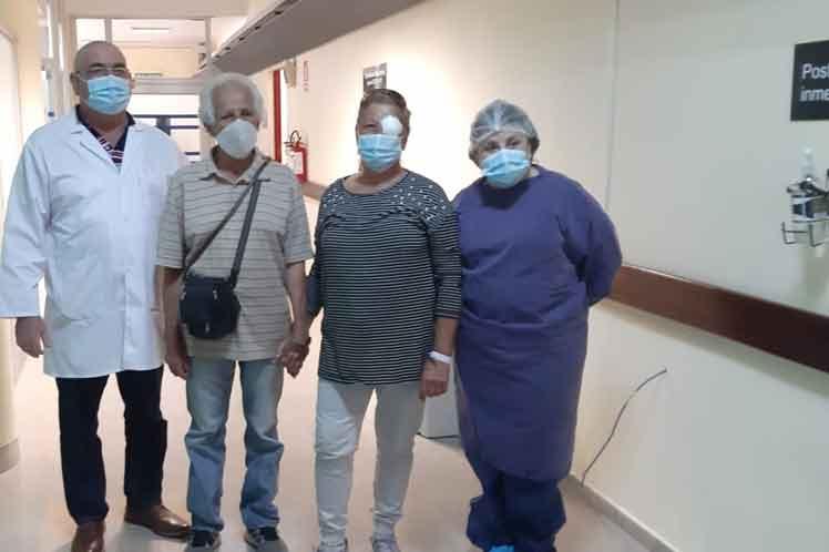 Con colaboración cubana llega a 100 mil cirugías oculares hospital uruguayo
