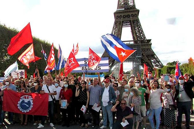 Rechazan en Francia provocación de mercenarios contra Cuba