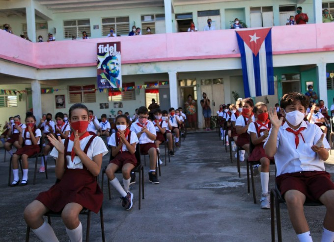 Lista La Habana para el comienzo del curso escolar 2020-2021