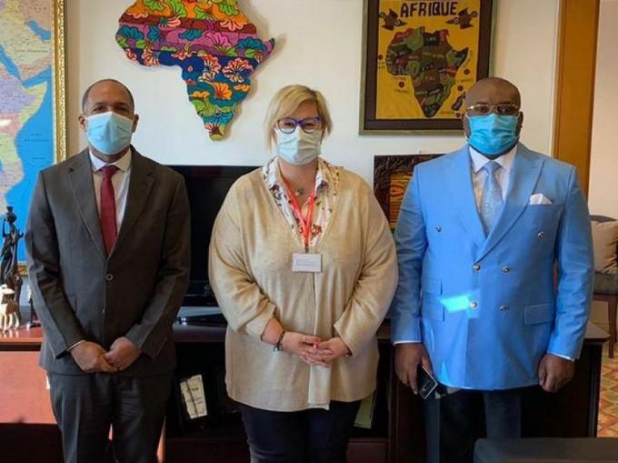 Apoyan Cuba y Turquía esfuerzos para combatir la COVID-19 en Guinea Ecuatorial