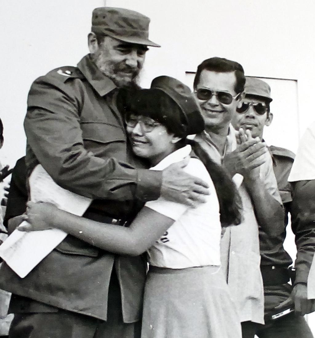 Fidel Castro y Johannes Almarales en el periódico La Demajagua (+ fotos)