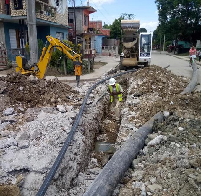 Sobrepasan los 12 millones de pesos inversiones este año en sector hidráulico de Granma