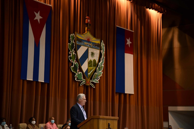 Reafirma Díaz- Canel voluntad de los cubanos de en 2021 vencer y apostar por el desarrollo