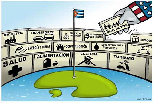 Bloqueo de Estados Unidos a Cuba con cifras históricas en 2020