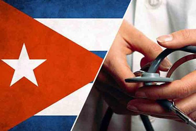 Entregan reconocimiento a Brigada Médica de Cuba en Uruguay