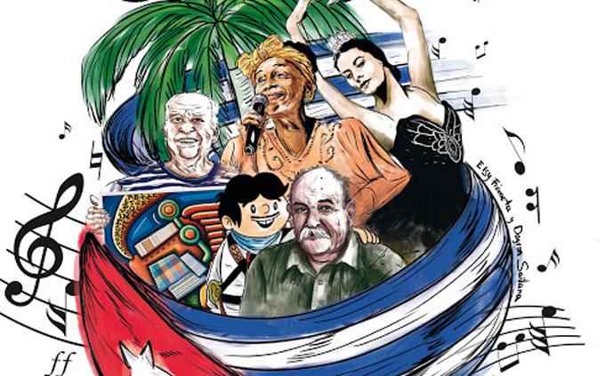 Felicitan máximos dirigentes de Cuba a trabajadores de la Cultura en su día