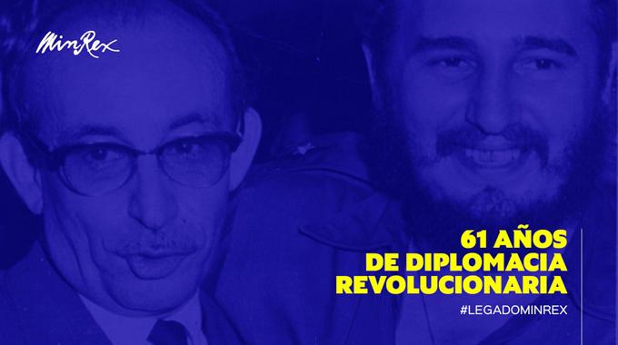 Felicita canciller a diplomacia cubana en su aniversario 61