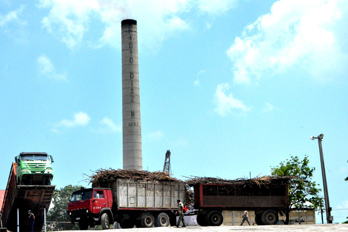 El Enidio Díaz lidera la zafra azucarera en Cuba