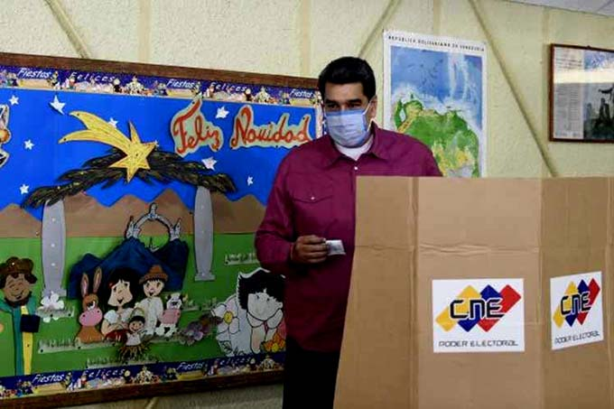 Triunfa la democracia en elecciones legislativas de Venezuela