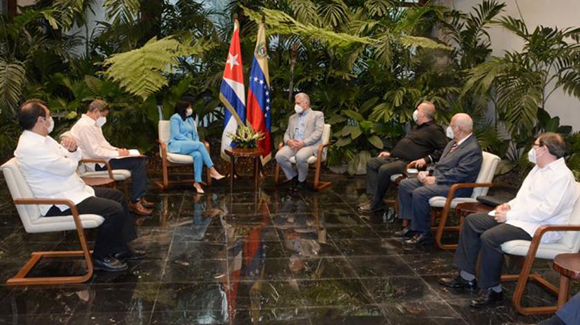 Presidente cubano destaca relaciones de amistad y cooperación con Venezuela