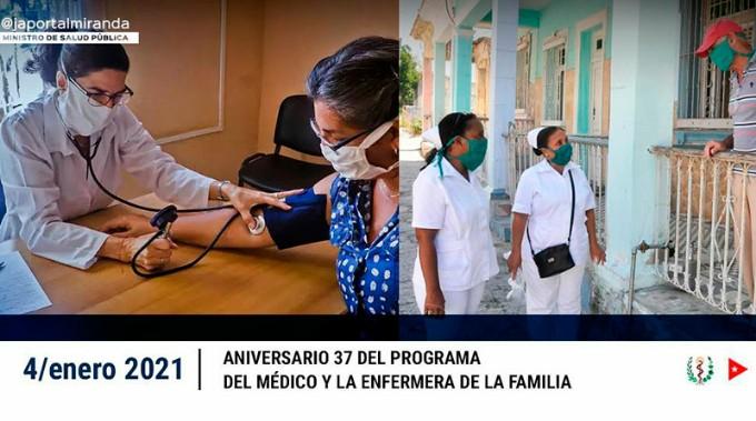 Felicitan a personal de la salud cubano en aniversario del Programa de Medicina Familiar