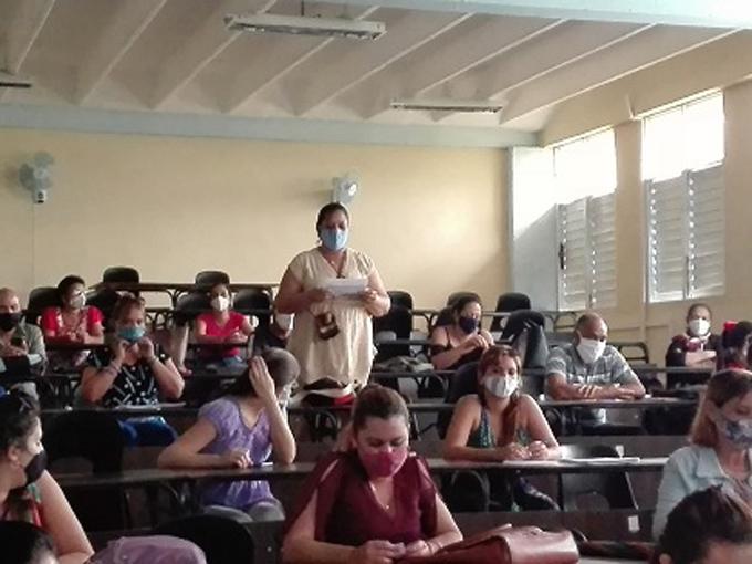 Celebran Día de  la Ciencia en el campus Blas Roca de la Universidad de Granma