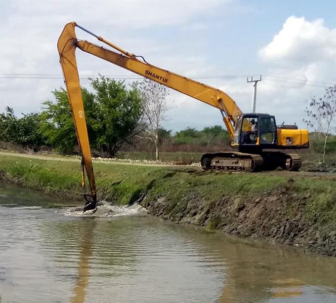 Sobrepasa los ocho millones de pesos  mantenimiento realizado en infraestructura hidráulica de Granma