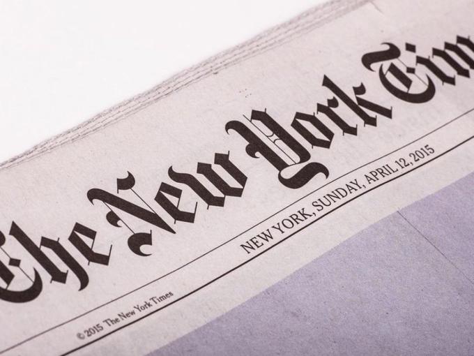 Diario NY Times rechaza inclusión de Cuba en lista unilateral