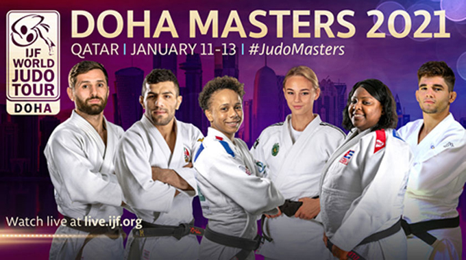 Judocas cubanos en espera de segunda jornada del Máster de Doha