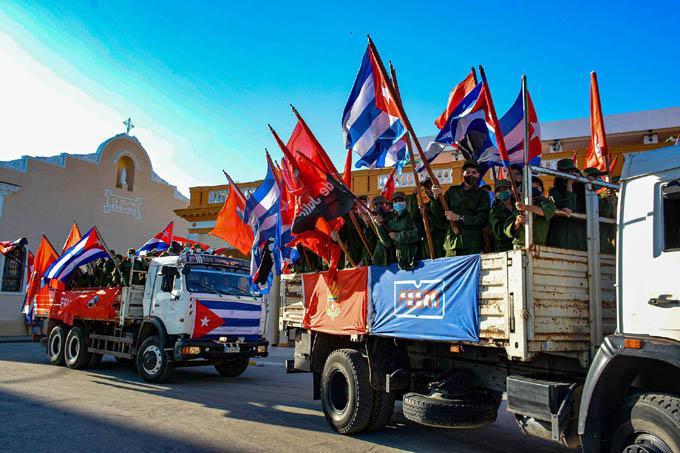 Evocan llegada a Bayamo de la Caravana de la Libertad (+ fotos)