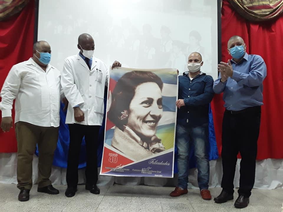 Felicitan al colectivo del hospital Celia Sánchez en su aniversario 40