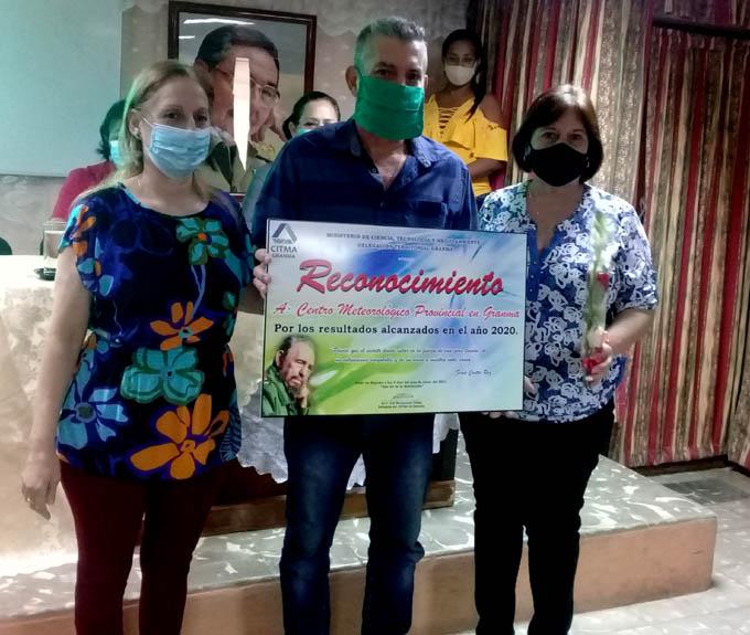 Reconoce delegación del Citma en Granma a trabajadores destacados en 2020 (+fotos)