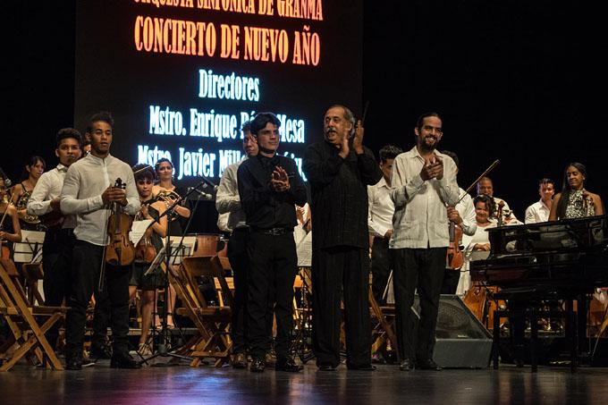 Sinfónica de Granma, Pérez Mesa y Millet hechizan en nuevo año