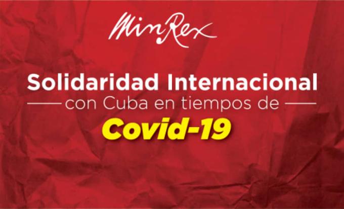 Destaca Cuba principio de solidaridad de su política exterior