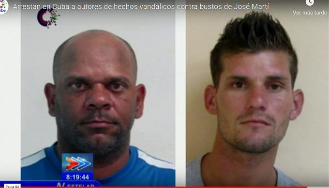 Condenados quienes ultrajaron bustos de José Martí (+Videos)