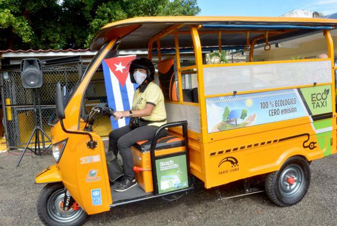 Proyectan fabricar en Cuba triciclos eléctricos para apoyar el transporte