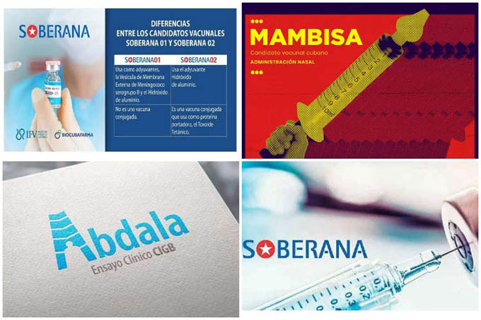 Carrera por vacunas antiCovid-19 en Cuba tiene cuatro ganadores