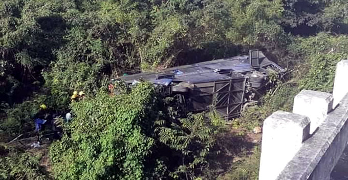 Autoridades informan nombres de fallecidos en accidente masivo en Mayabeque