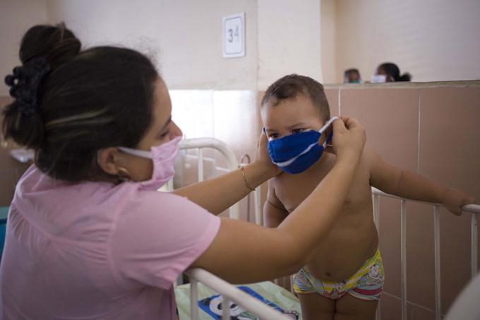Cuba reportó en enero más casos de COVID-19 en edades pediátricas que en todo 2020