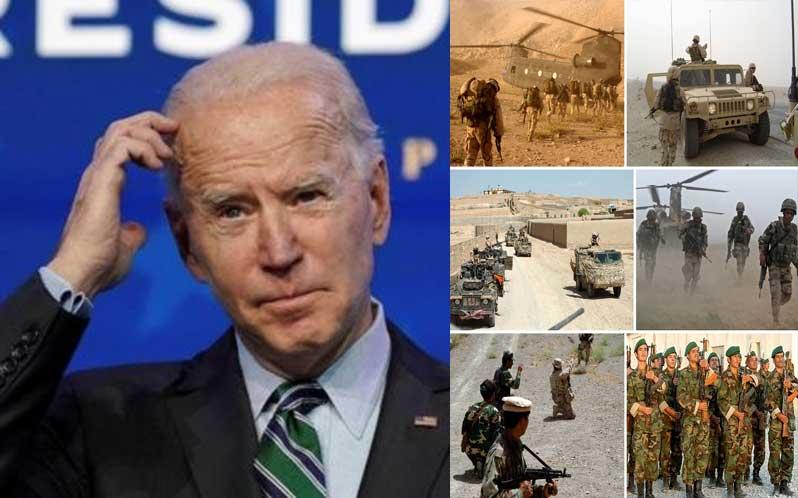 Biden indeciso sobre retirada de EE.UU. de Afganistán