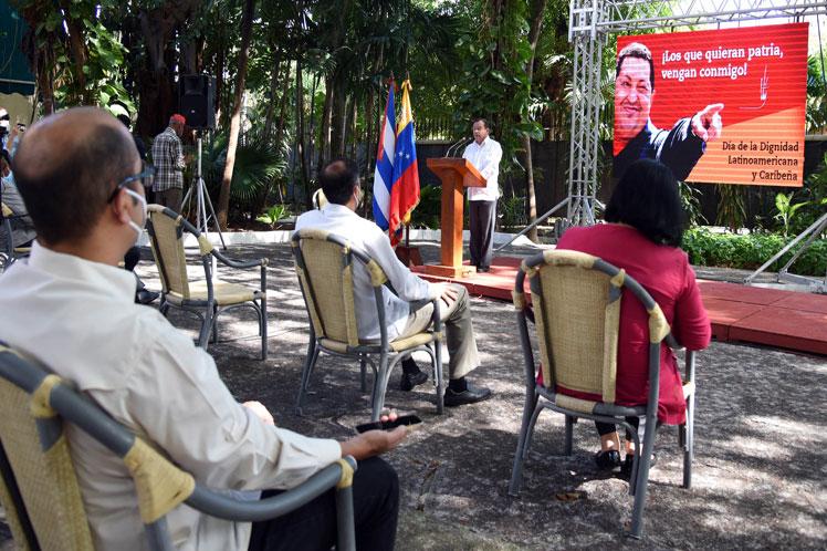 Celebran en Cuba Día de la Dignidad Latinoamericana (+Fotos)