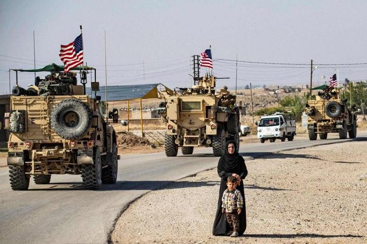 Washington refuerza bases militares y saquea el trigo de Siria