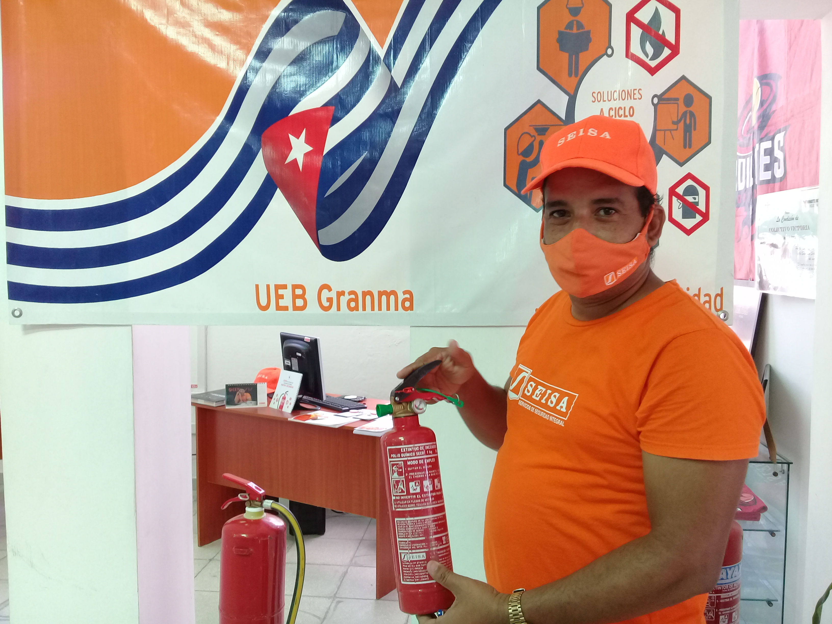 Seisa comercializa extintores en moneda libremente convertible