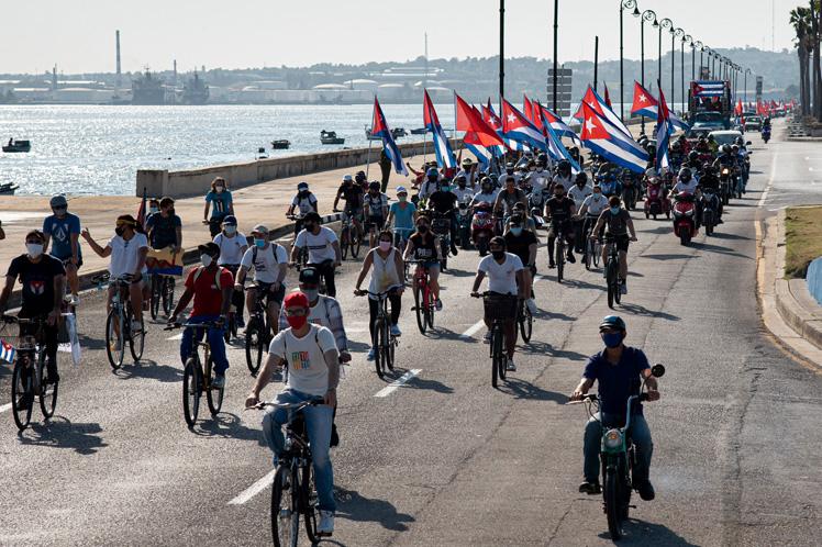 Resalta Díaz-Canel compromiso patriótico de juventud en Cuba