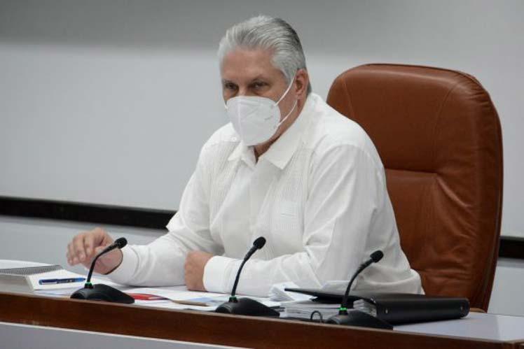 Ordenamiento en Cuba sin igualitarismos, afirma Díaz-Canel