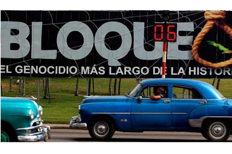 EE.UU. viola DD.HH. con bloqueo a Cuba, denuncia China