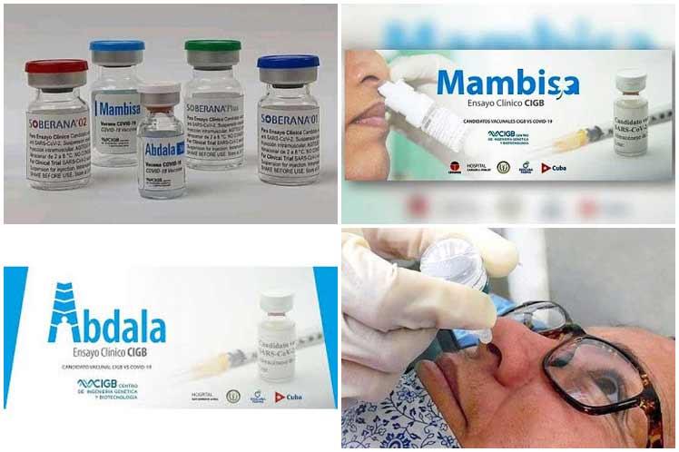 Presidente de Cuba pondera avances en inmunización contra Covid-19