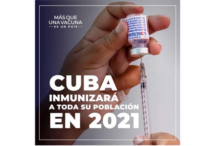 Díaz-Canel insta a vacunación responsable en Cuba contra Covid-19